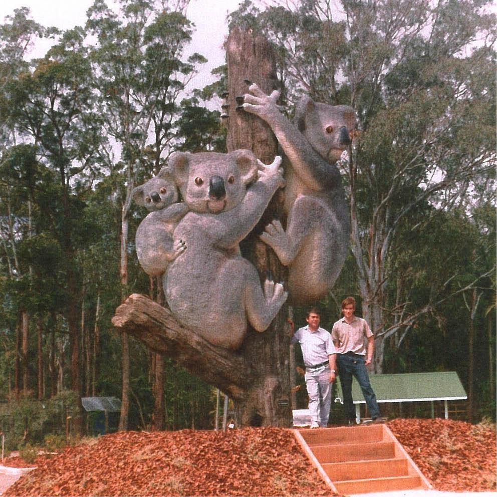 Giant koalas with David