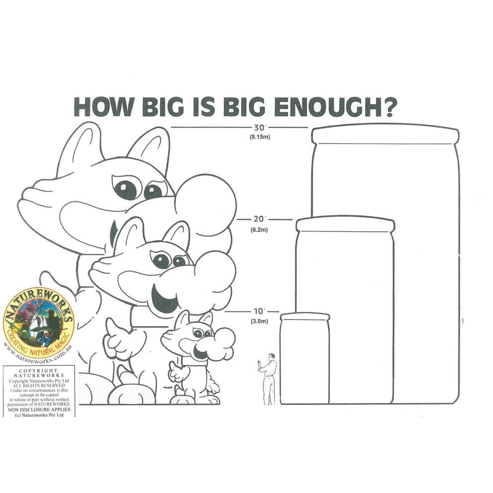 Giant Matilda the Kangaroo How Big is Big enough