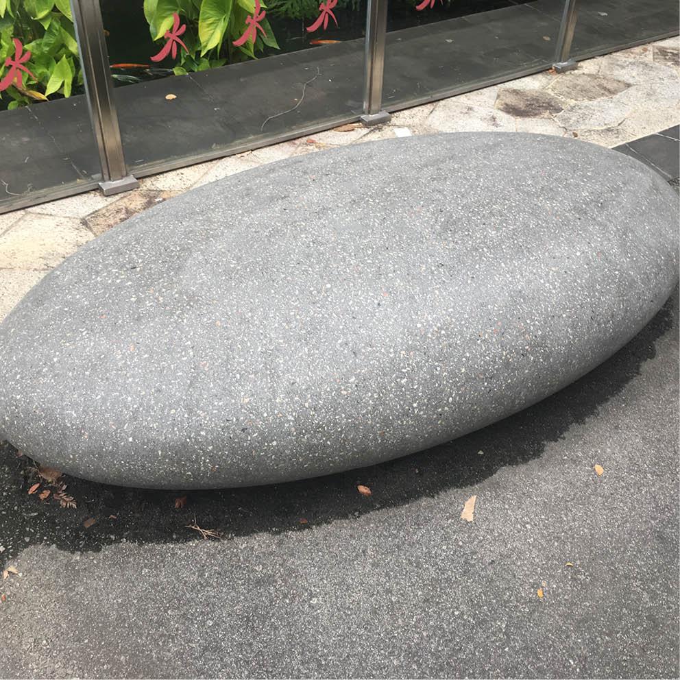 Giant Pebble Seats