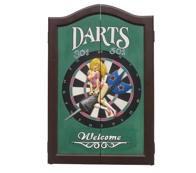 Girl Dart Board Cabinet DF
