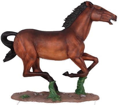 Horse Galloping Painted