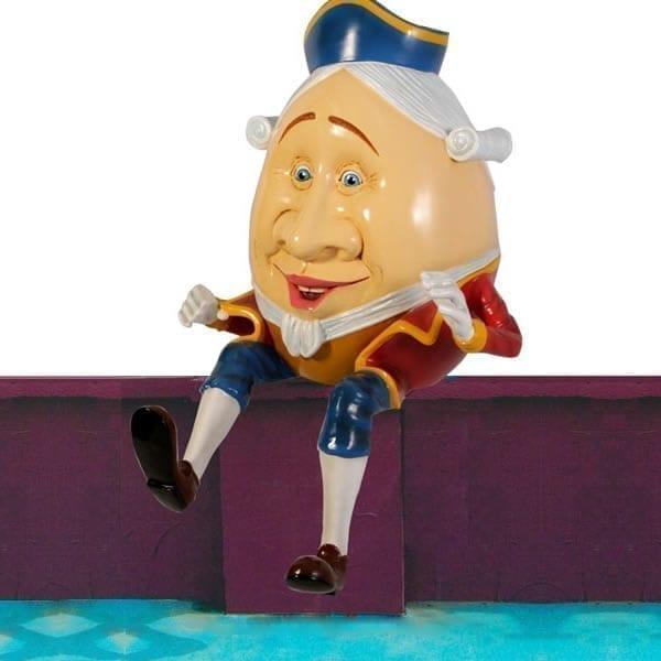 Humpty Dumpty statue