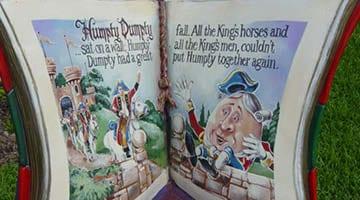 Hunter Valley Gardens Humpty Dumpty Story Book Copy