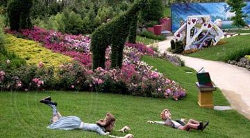 Hunter Valley Gardens Jack Jill Falling down the hill V