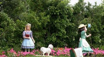 Hunter Valley Gardens Little Bo Peep has lost her sheep