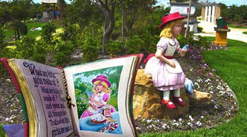Hunter Valley Gardens What are little girls made of sugar and spice