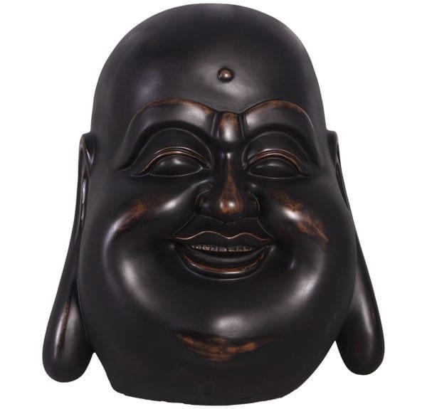 Jolly Buddha Head Statue
