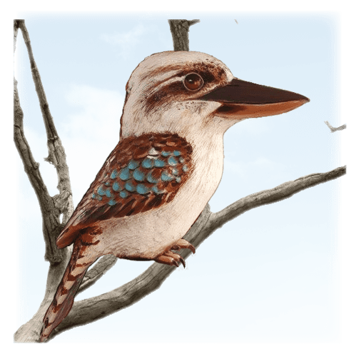 Larger Than Life size Birds Category Kookaburra V