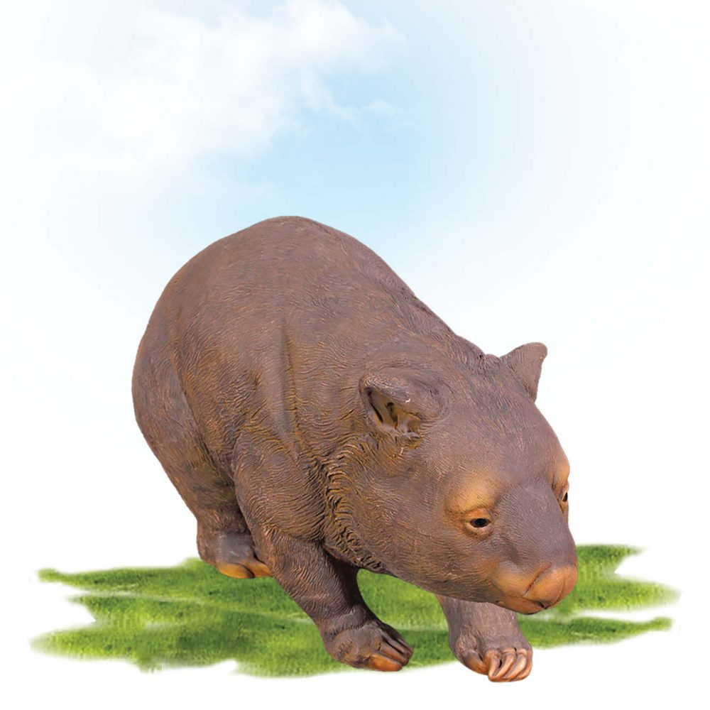 Wombat Common Statue