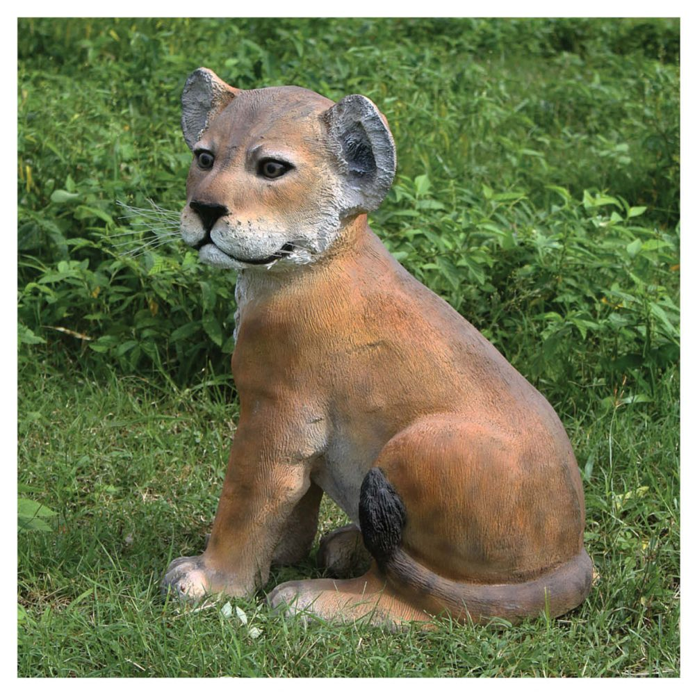 Lion Cub - Sitting statue