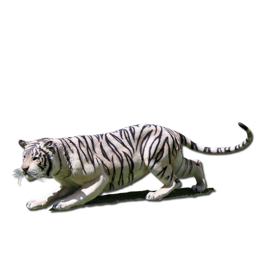 Siberian tiger crouching Sculpture