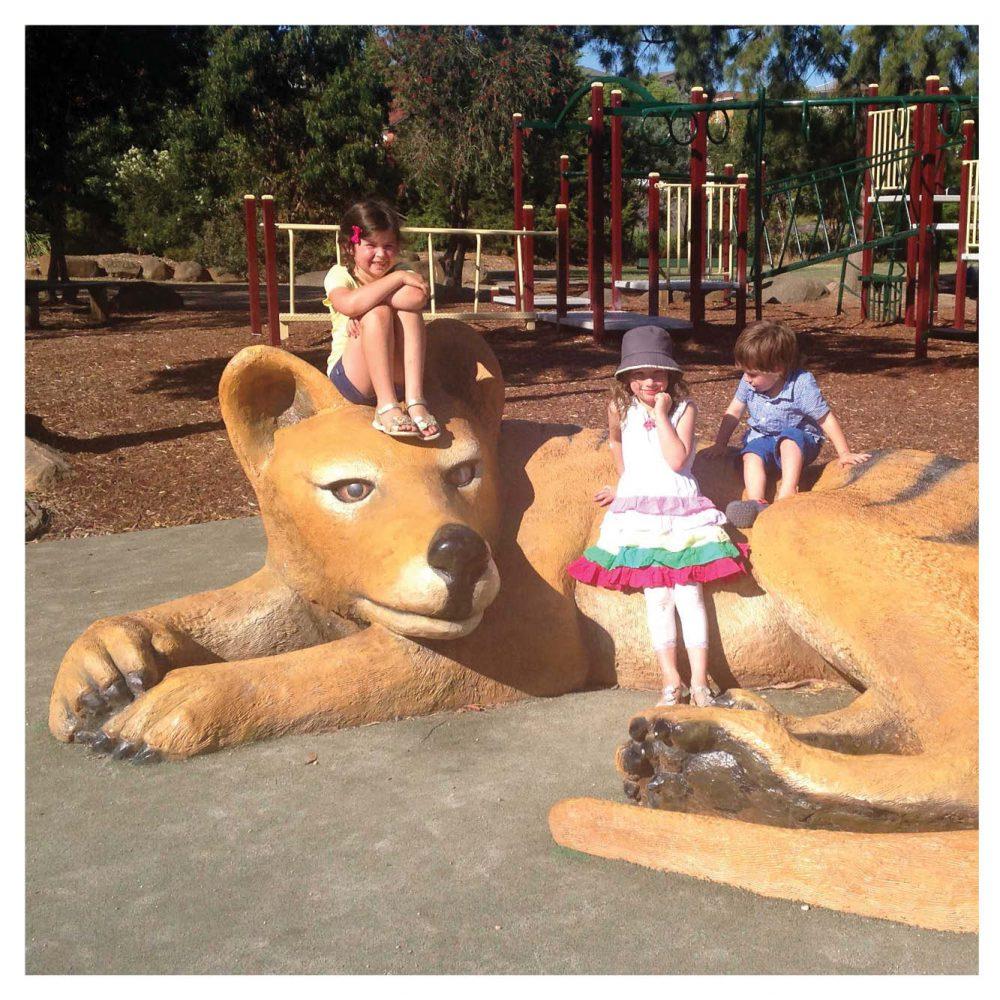 Thylacine - Tasmanian tiger - Giant