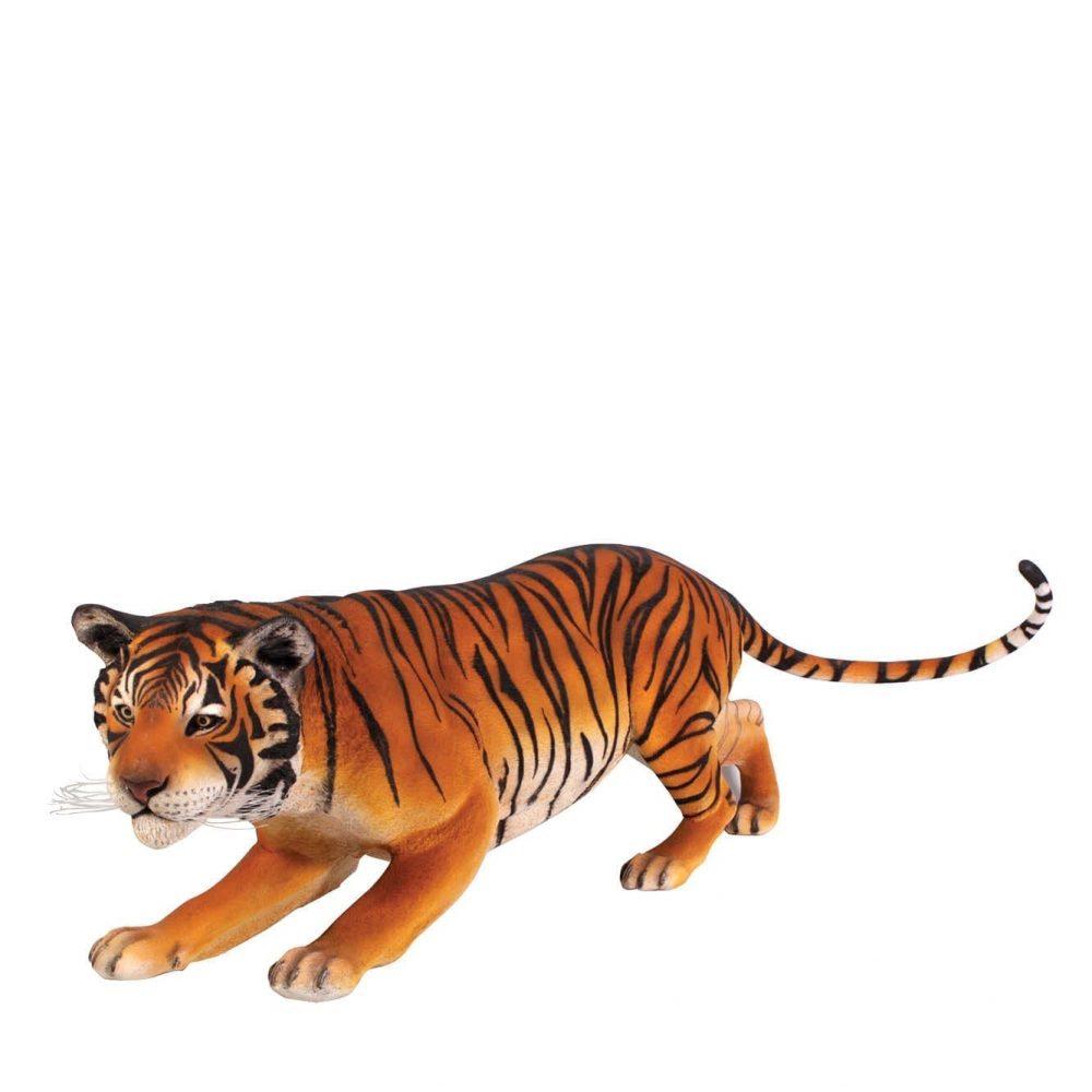 Bengal Tiger Standing Statue