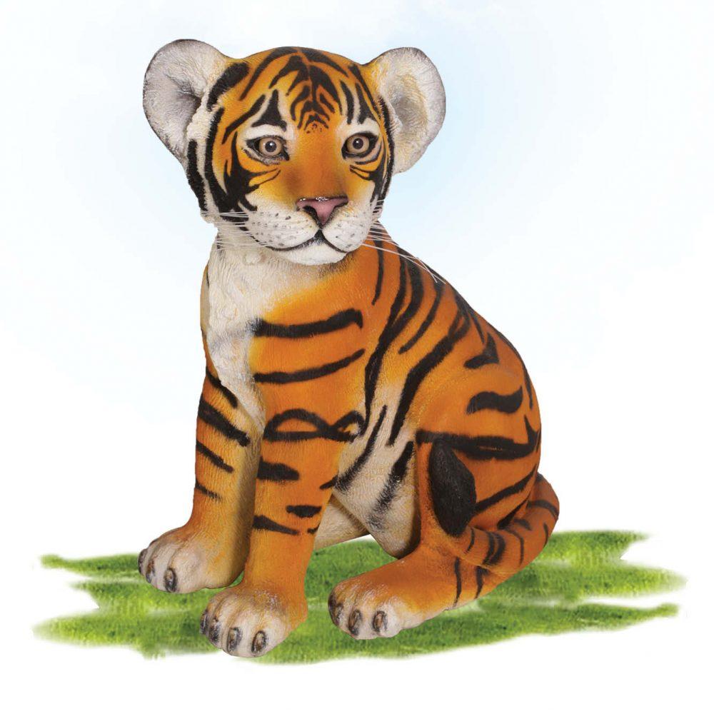 Bengal Tiger Cub Sitting