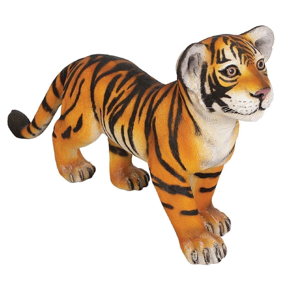 Bengal Tiger Cub - Standing statue