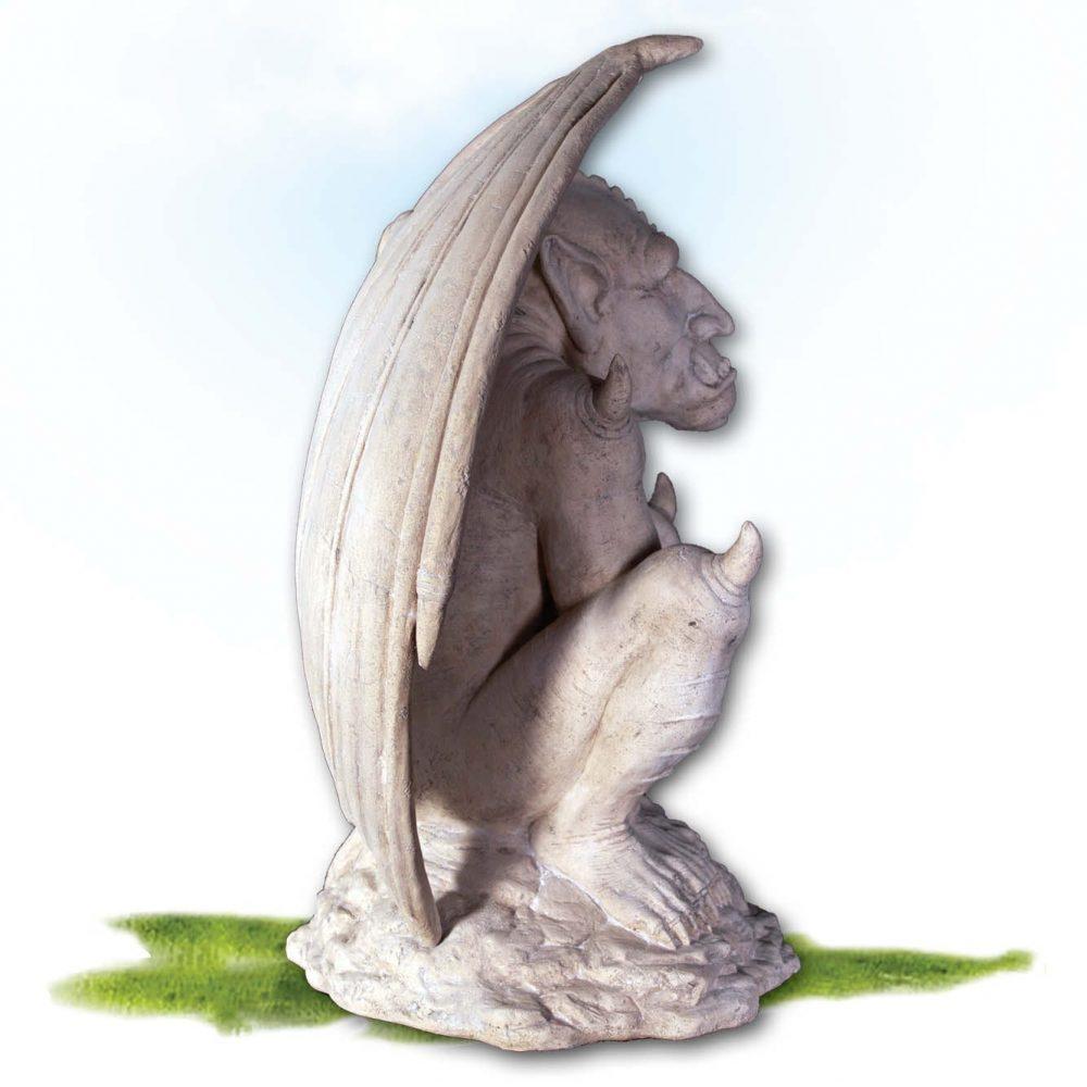 Mammals Fantasy mammals Gargoyles Roman Stone Side View Product Image V px px