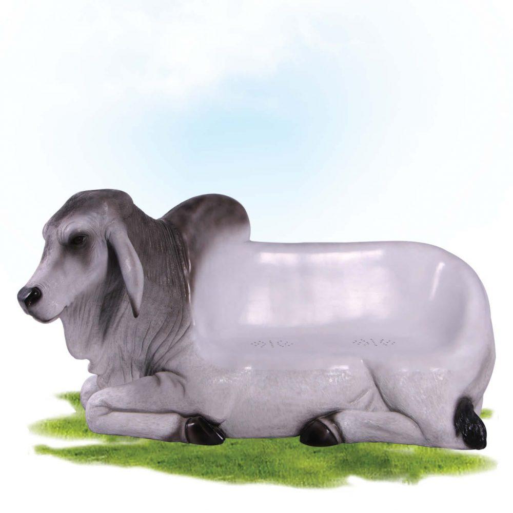 Mammals Farm animals Cattle Bulls Brahman Bull Settee Product Image V px px