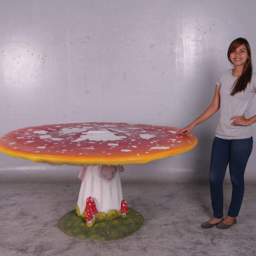 Mushroom Table large for fairy garden décor
