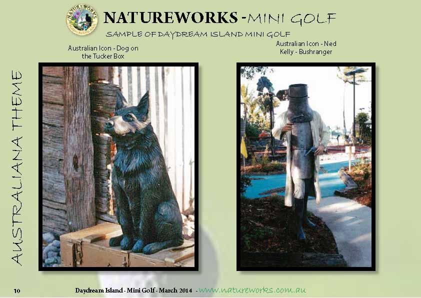 Natureworks Mini Golf Catalogue  Page