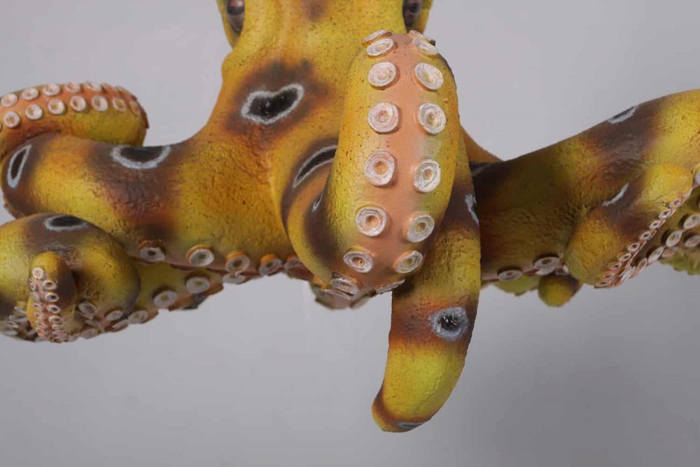 Octopus Chandelier Décor sculpture