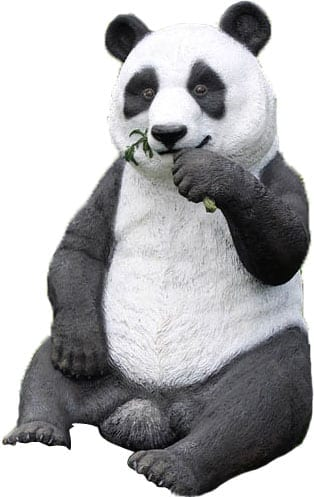 Panda Eating E