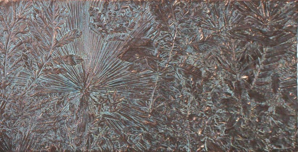 Panel Leaf Frieze Greenish Bronze GB
