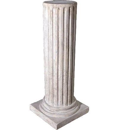 Pedestal Fluted RS