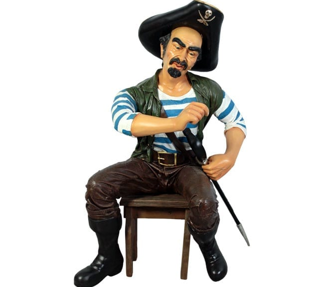 Pirate Pedro Statue