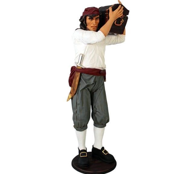 Pirate Statue Treasure Hunter