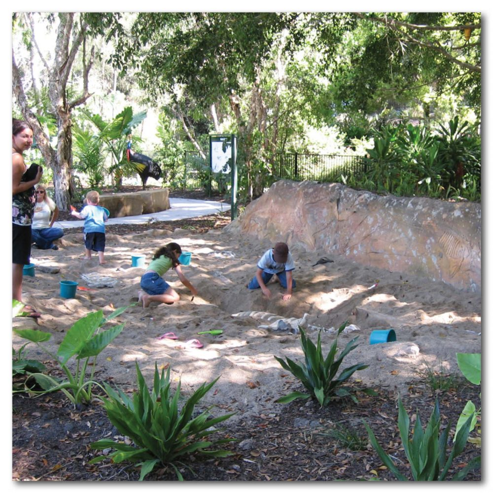 Fossil Digs & Sandpits