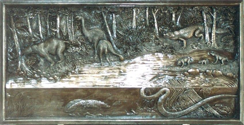 Prehistoric Mural & Wall Art