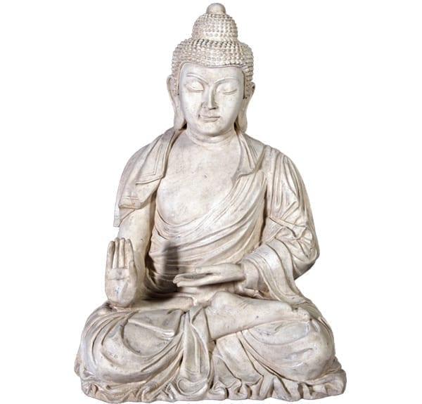 Roman Stone Enchanted Buddha Statue