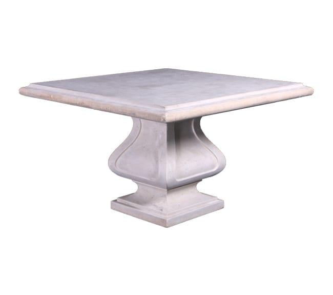 Roman Stone Finish Garden Table