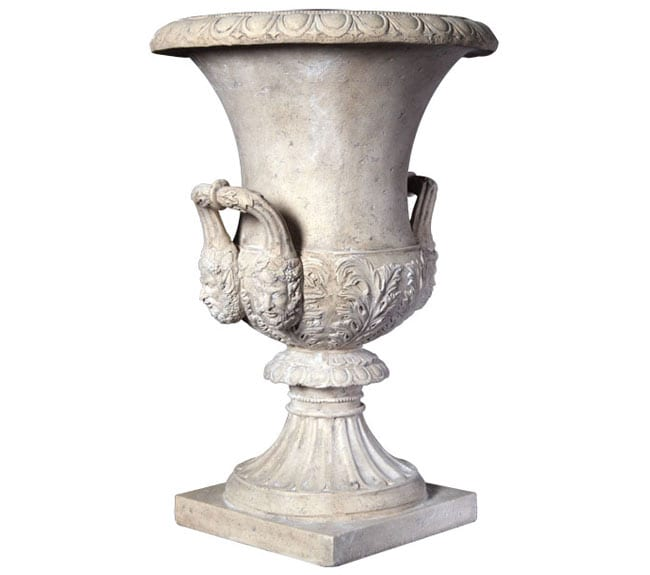Roman Stone Medici Urn Pot RS