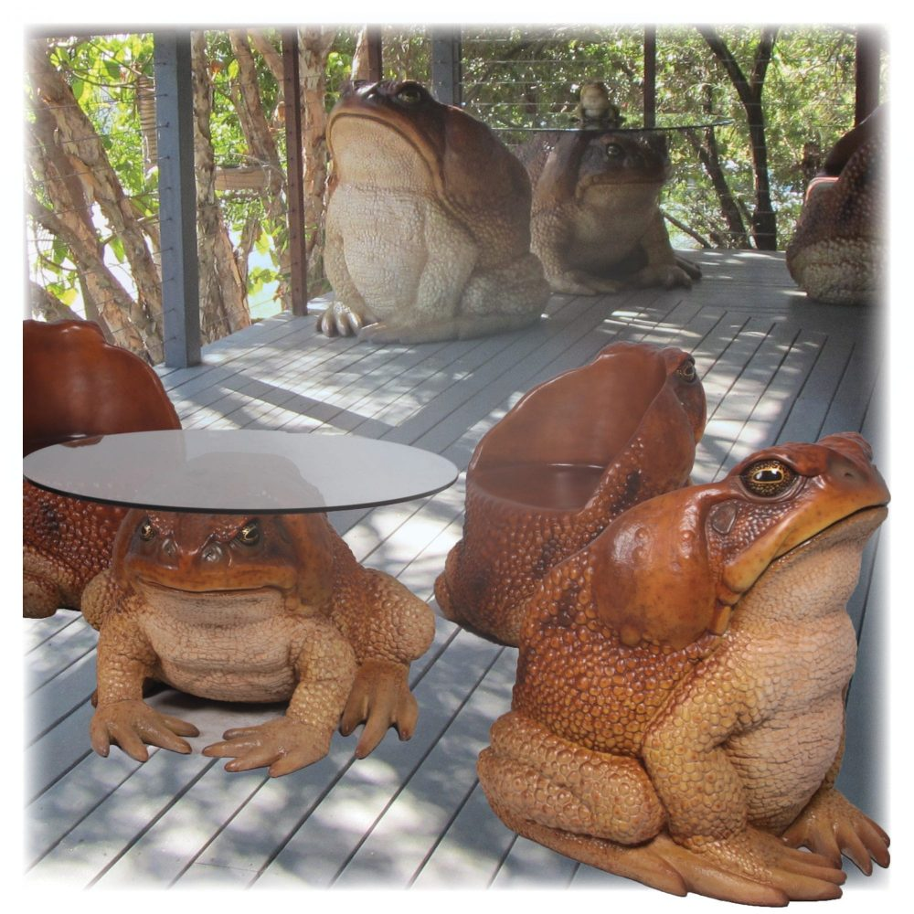Cane Toad Chair - Part of Set