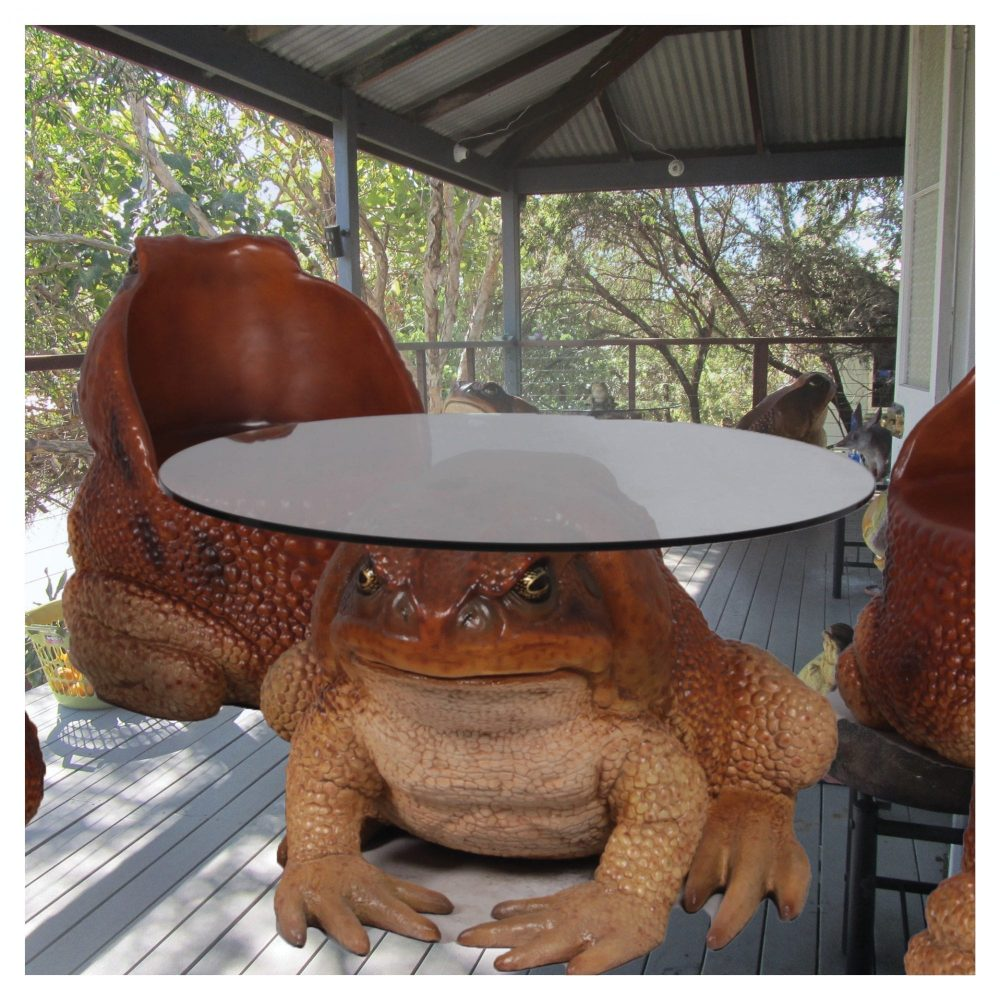 Cane Toad Table - Large