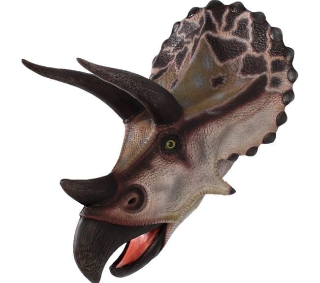 Triceratops Head Wall Decor