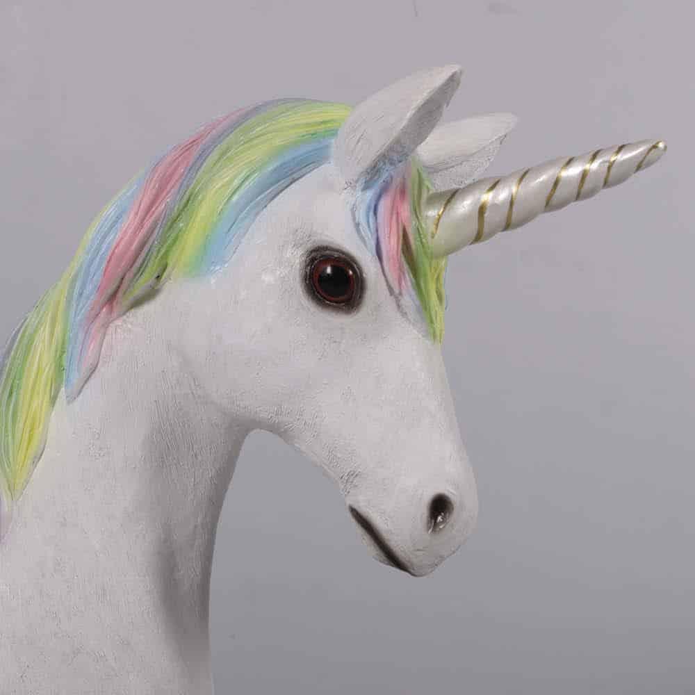 Unicorn foal standing Rainbow  V px px