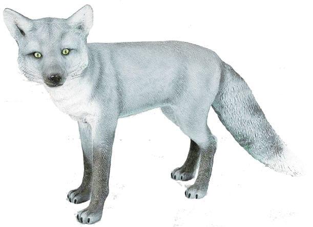 arctic fox sculpture for sale