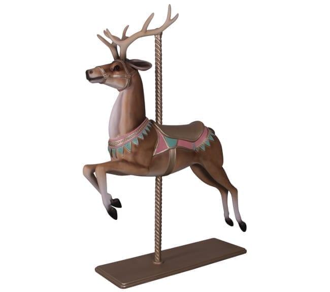 christmas carousel reindeer