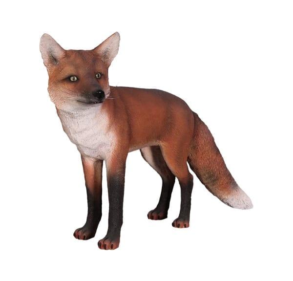 fibreglass fox garden Statue