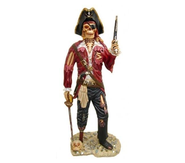 lifesize pirate skeleton Statue