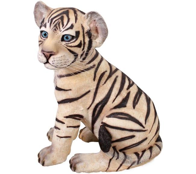 tiger cub Statue