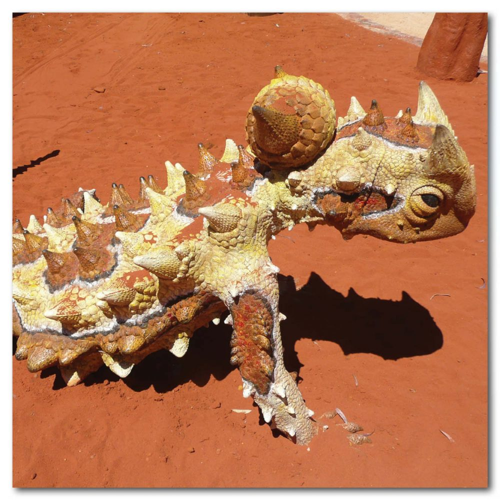 Animals Reptiles Lizards Thorny Devil on Base Product Image V px px