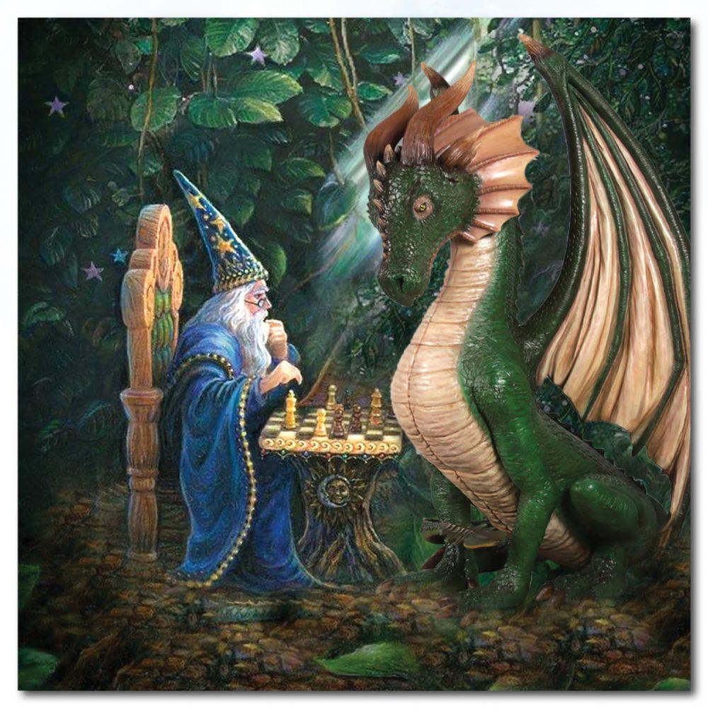 Mammals Fantasy Mammals Dragon Sitting ft Green Product Image V px px