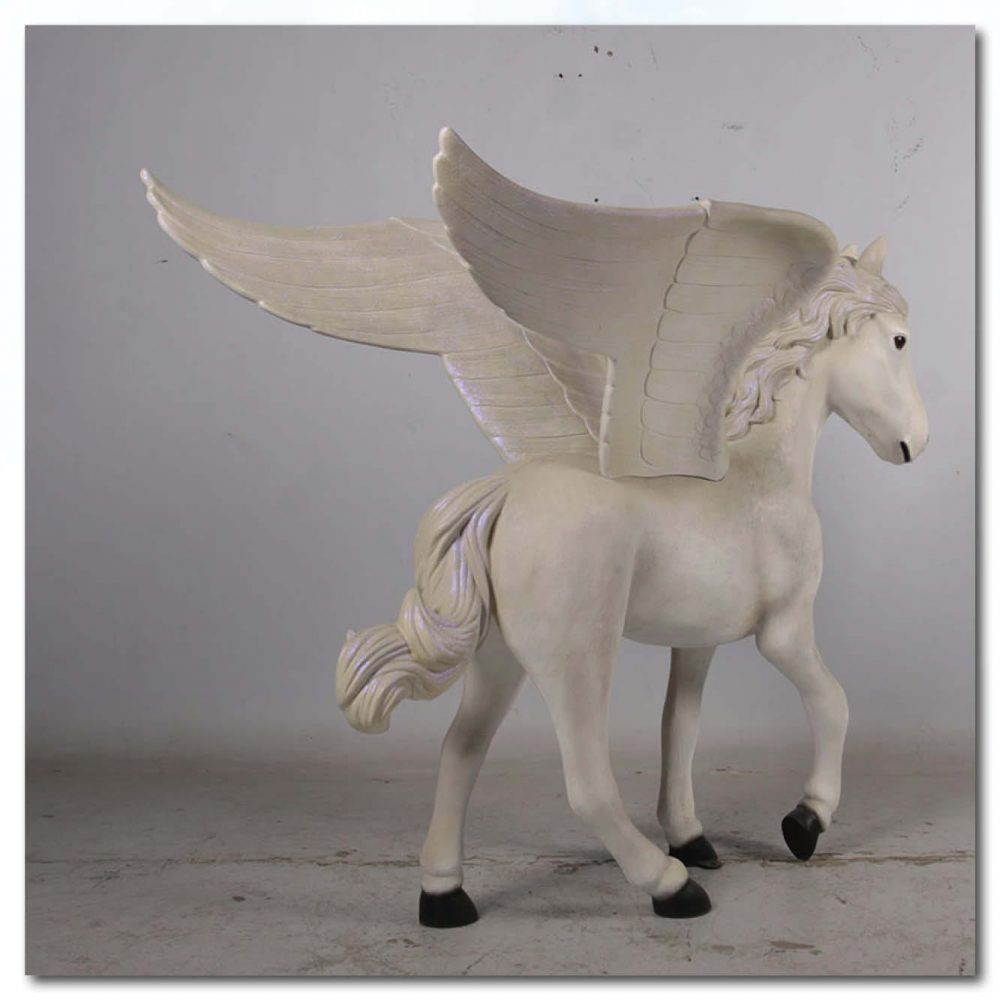 Mammals Fantasy Mammals Pegasus Standing ft Product Image V px px