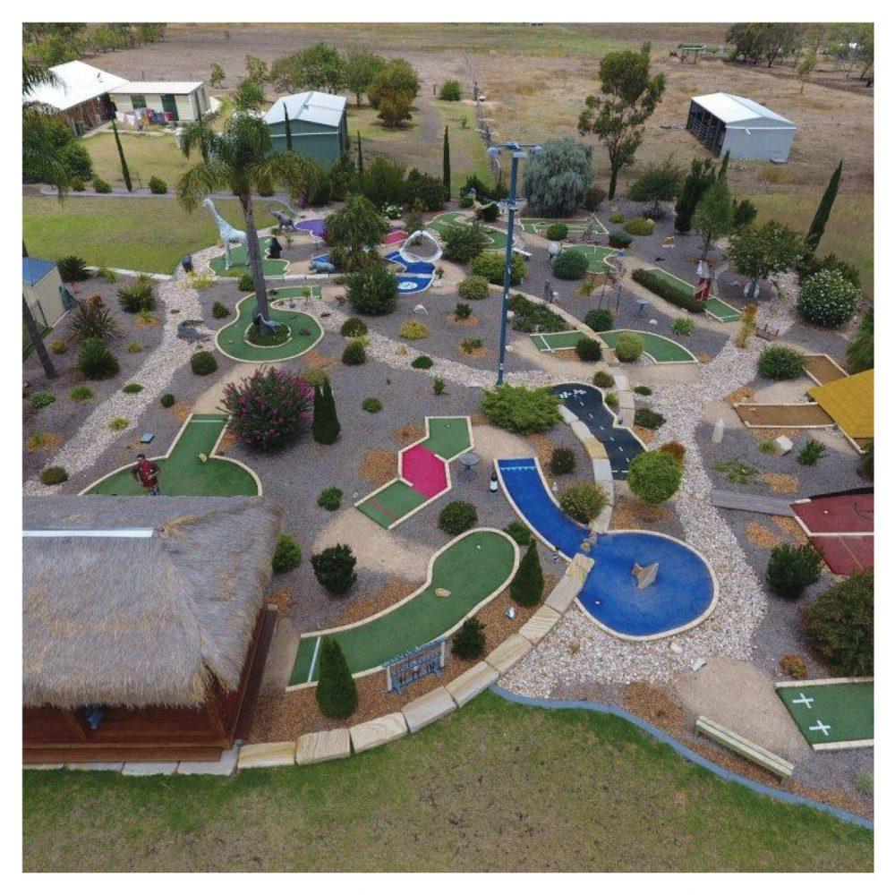 Mini Golf Theming Putt Play Pittsworth Residental backyard Product Gallery  px px