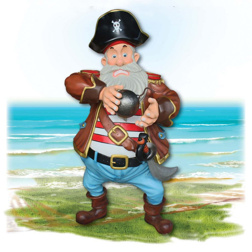 Playground Theming Pirate Play Pirate with Cannon Ball Product Image  px px