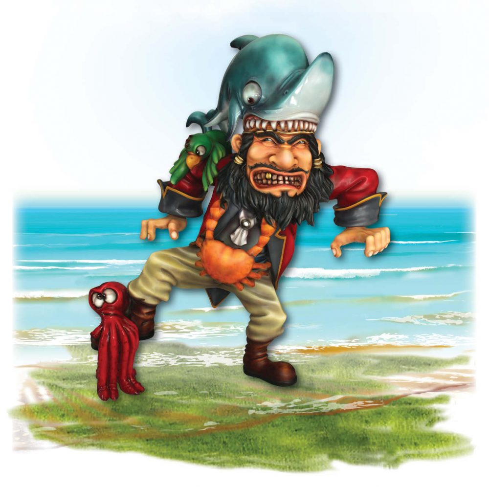 Playground Theming Pirate Play Pirate with Shark Product Image  px px