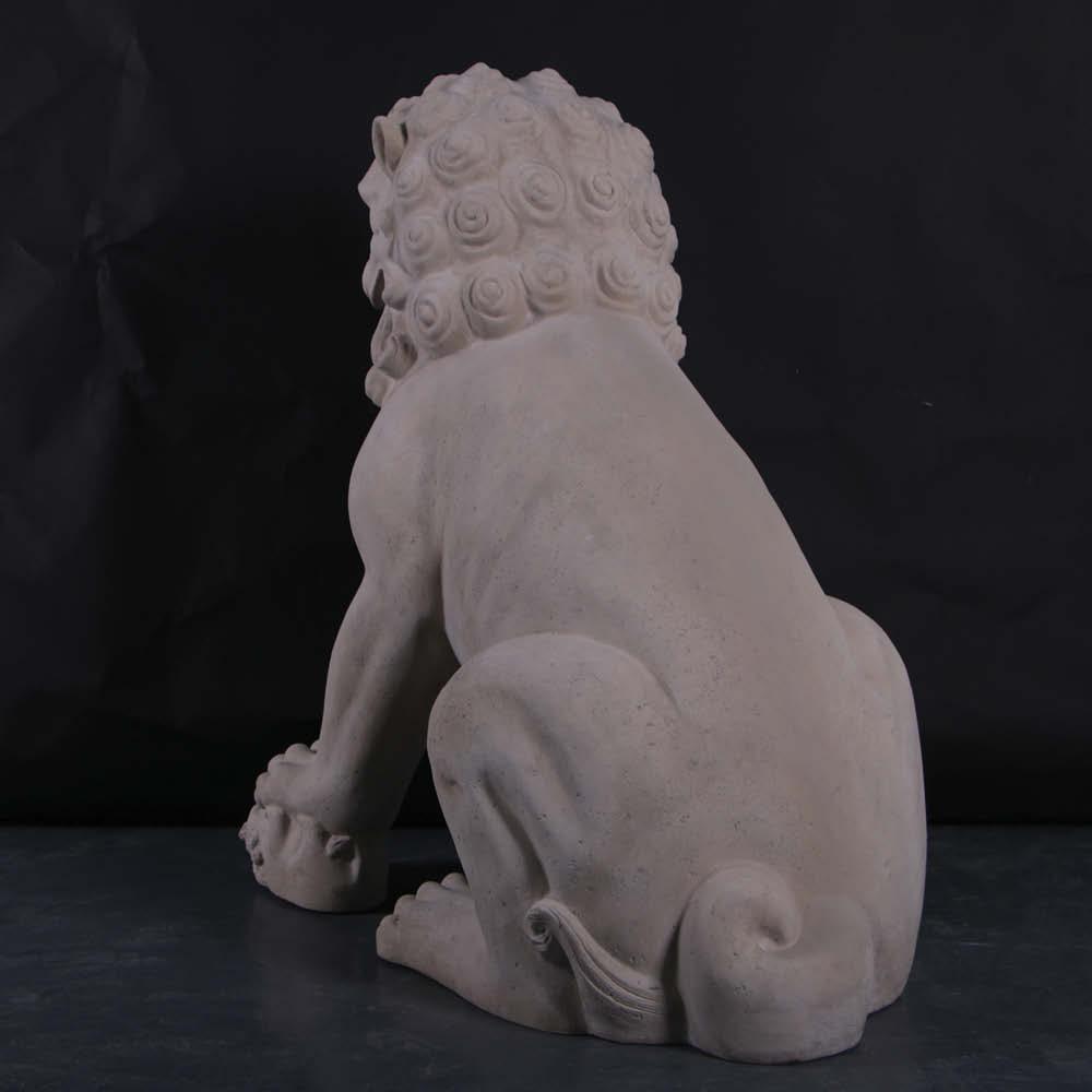 Female Foo Dog - Giant sculpture photo